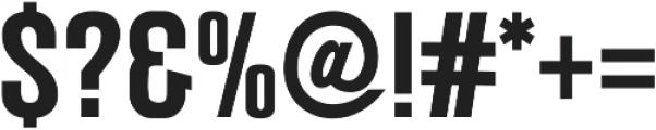 Mostin otf (700) Font OTHER CHARS