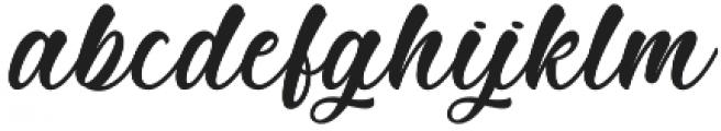 Mother Batik otf (400) Font LOWERCASE