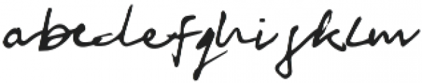 Mother Signature otf (400) Font LOWERCASE