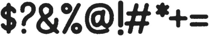 Motherline Sans Rough otf (400) Font OTHER CHARS