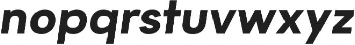 Motiraw Alt Bold Italic otf (700) Font LOWERCASE