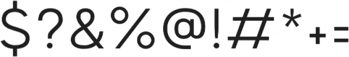 Motiraw Alt Light otf (300) Font OTHER CHARS