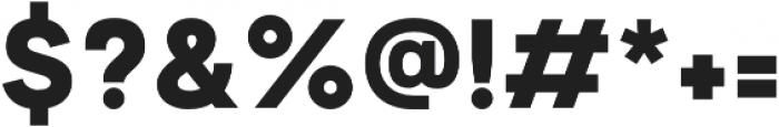 Motiraw Black otf (900) Font OTHER CHARS
