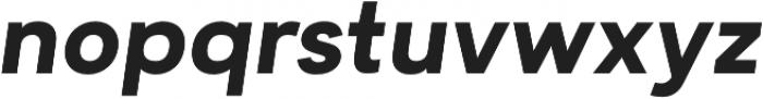 Motiraw Bold Italic otf (700) Font LOWERCASE