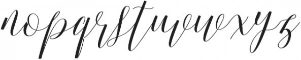 Motisan Script Regular otf (400) Font LOWERCASE