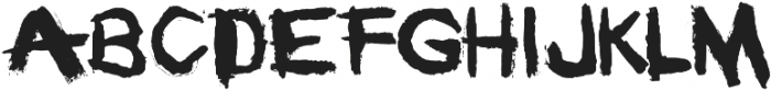 Motor City otf (400) Font UPPERCASE