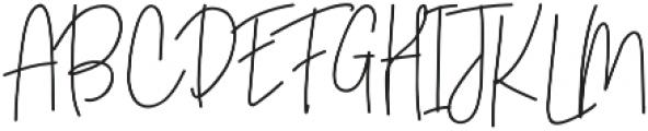 Motters otf (400) Font UPPERCASE