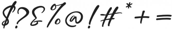 Mottingham Script otf (400) Font OTHER CHARS