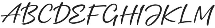 Mottingham Script otf (400) Font UPPERCASE