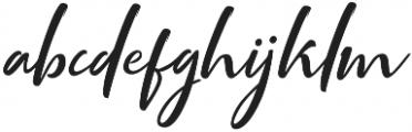 Mottingham Script otf (400) Font LOWERCASE