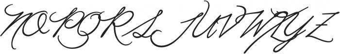 Moubatine otf (400) Font UPPERCASE
