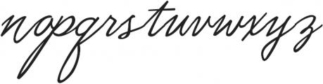 Moubatine otf (400) Font LOWERCASE