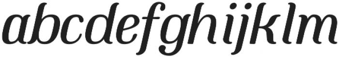 Mount otf (400) Font LOWERCASE