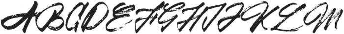 Mountain Saberola Regular otf (400) Font UPPERCASE