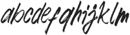 Mountain Saberola Regular otf (400) Font LOWERCASE