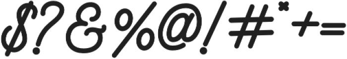 Mountecarlo Bold otf (700) Font OTHER CHARS
