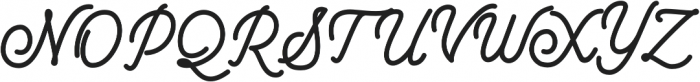 Mountecarlo Bold otf (700) Font UPPERCASE