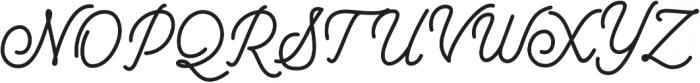 Mountecarlo otf (400) Font UPPERCASE