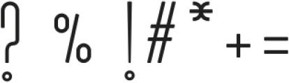 Mozarkash otf (400) Font OTHER CHARS