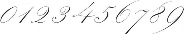 Mozart Script Thin ttf (100) Font OTHER CHARS