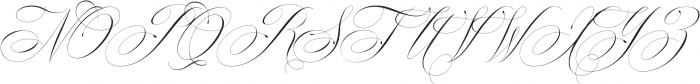 Mozart Script Thin ttf (100) Font UPPERCASE
