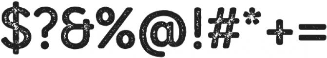 Mozzart Rough Bold otf (700) Font OTHER CHARS
