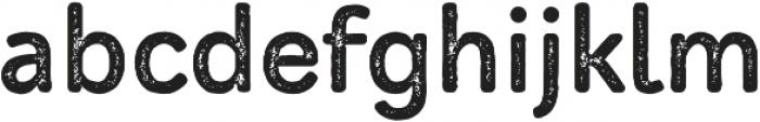 Mozzart Rough Bold otf (700) Font LOWERCASE