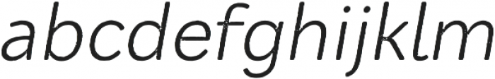 Mozzart Rough Regular Oblique otf (400) Font LOWERCASE
