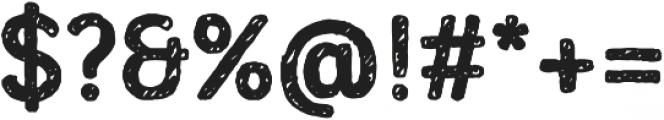 Mozzart Sketch Bold otf (700) Font OTHER CHARS