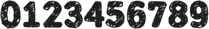 Mozzart Sketch ExtraBold otf (700) Font OTHER CHARS