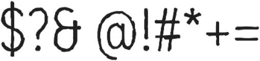 Mozzart Sketch Regular Condensed otf (400) Font OTHER CHARS
