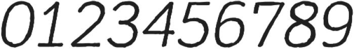 Mozzart Sketch Regular Oblique otf (400) Font OTHER CHARS