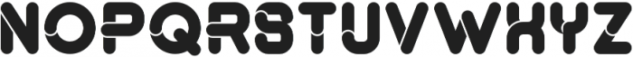 montana bold otf (700) Font UPPERCASE