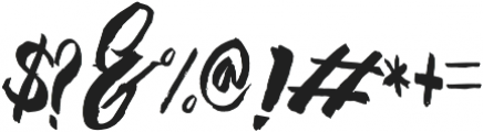 montellia otf (400) Font OTHER CHARS