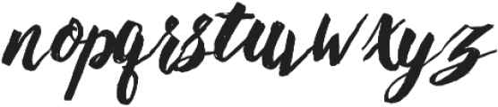 montellia otf (400) Font LOWERCASE