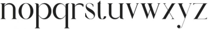 moraisa otf (400) Font LOWERCASE