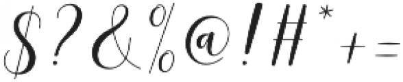 mottona Regular otf (400) Font OTHER CHARS