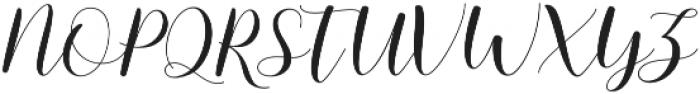 mottona Regular otf (400) Font UPPERCASE