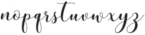 mottona Regular otf (400) Font LOWERCASE