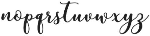 mottona bold Regular otf (700) Font LOWERCASE