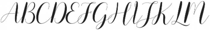 mottona thin Regular otf (100) Font UPPERCASE
