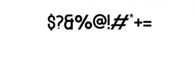 MODULAR-11pt.otf Font OTHER CHARS