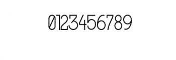 MODULAR-4Pt.otf Font OTHER CHARS