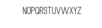 MODULAR-4Pt.otf Font LOWERCASE