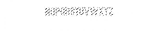 MODULAR-Hatch3.otf Font UPPERCASE
