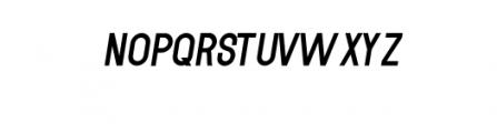 MODULAR-Italic11PT.otf Font UPPERCASE