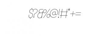 MODULAR-Italic2Pt.otf Font OTHER CHARS