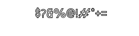 MODULAR-Outline11Pt.otf Font OTHER CHARS