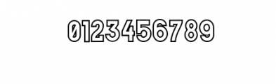 MODULAR-Outline16pt.otf Font OTHER CHARS