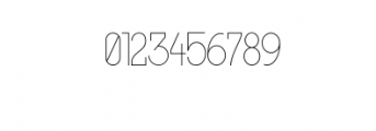 MODULAR-Thin2.otf Font OTHER CHARS